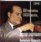 David Oistrakh & London Symphony Orchestra: Bruch - Scottish Fantasia / Hindemith - Violin Concerto