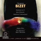 Martin West & San Francisco Ballet Orchestra: Georges Bizet - Symphony in C / Jeux d'enfants / Variations chromatiques